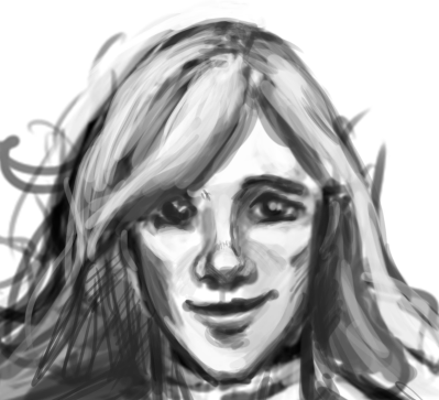 Smiling Vanya Sketch