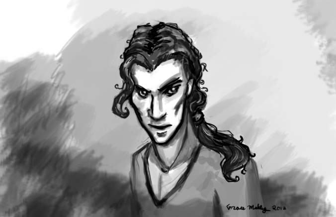 Sketch of Taniel