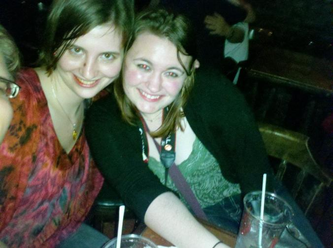 Me and Lady Higg in NOLA. Ignore the redeye. Also, I didn't clip Lorax out of the picture intentionally! That's how I found it on facebook!)