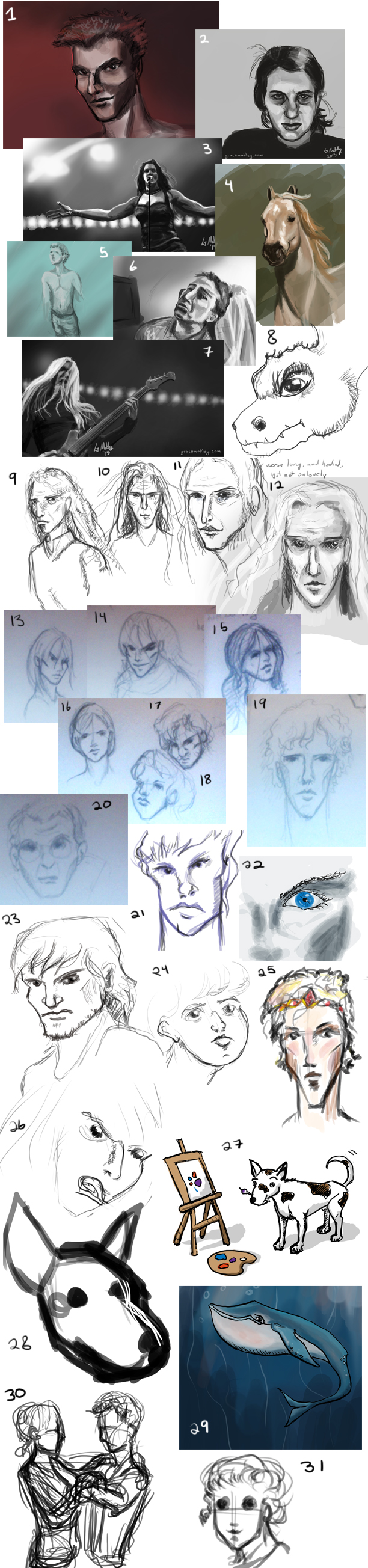 31Sketches